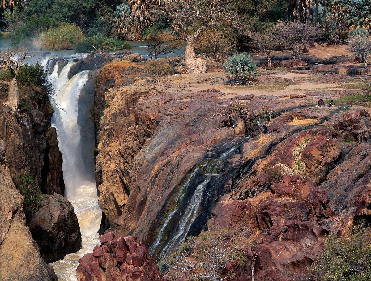 Les chutes d'Epupa, Namibie / The Epupa falls, Namibia