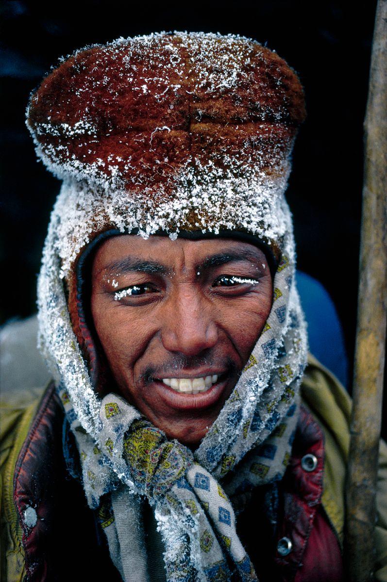 Moine du Zanskar, Himalaya indien / Zanskari monk, Indian Himalayas