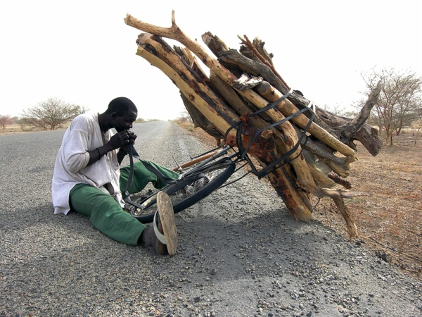 Sur la route frontiere avec le Tchad et le Nigeria     /     On the border road with Chad and Nigeria