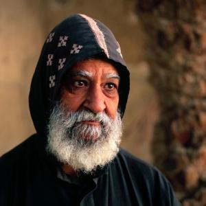 Pere Luc Ambabul, moine copte, Saint-Paul de Thebes, Egypte     /     Father Luc Ambabul, Coptic monk, Saint-Paul de Thebes, Egypt