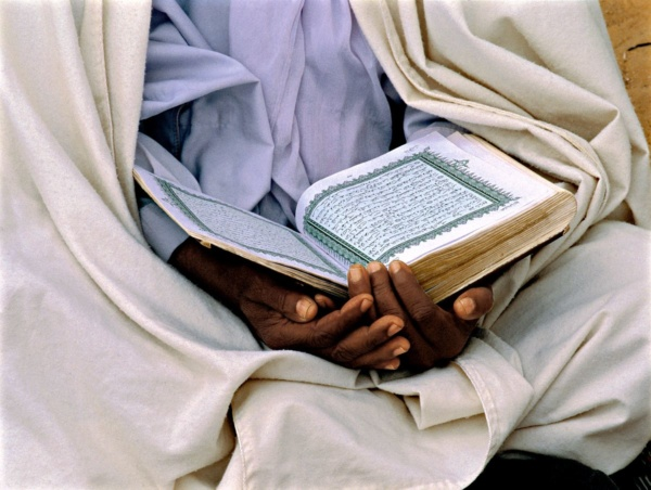 Lecture du Coran a Ghadames, Libye     /     Reading the Qur'an at Ghadames, Libya